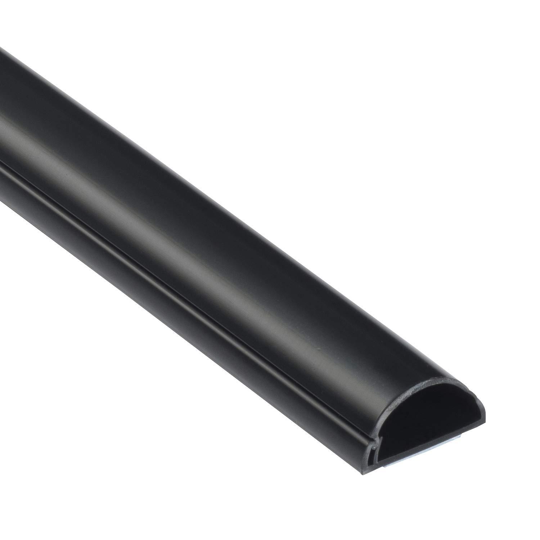 D-Line Mini 1M3015B | Canaletas para cables | 1 metro - Negro