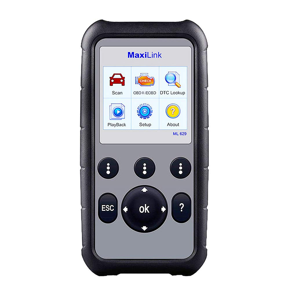 Autel MaxiLink ML629 OBD2 Scanner Upgraded Version of ML619, DTC Lookup, Ready Test, ABS/SRS/Engine/Transmission Diagnoses by Autel (Image #1)