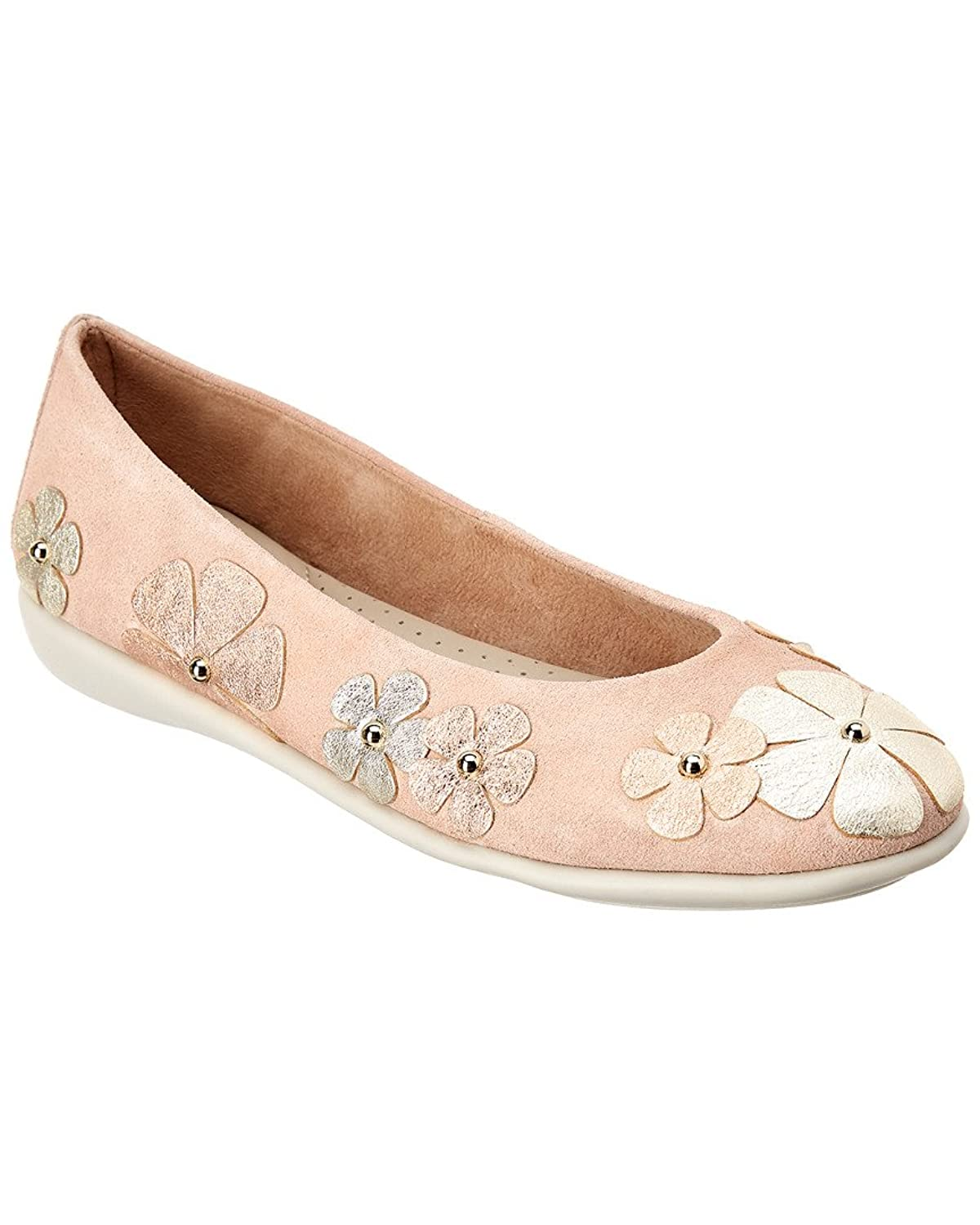 Flexx The Miss Hippie Leather Flat, 7.5, Pink B07F9FJBNC Parent