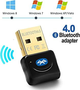USB 2.0 Wireless Bluetooth 4.0 Dongle Adapter for PC Desktop Computer US STOCK