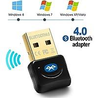 Maxesla Adaptador de Bluetooth 4.0 Bluetooth USB PC