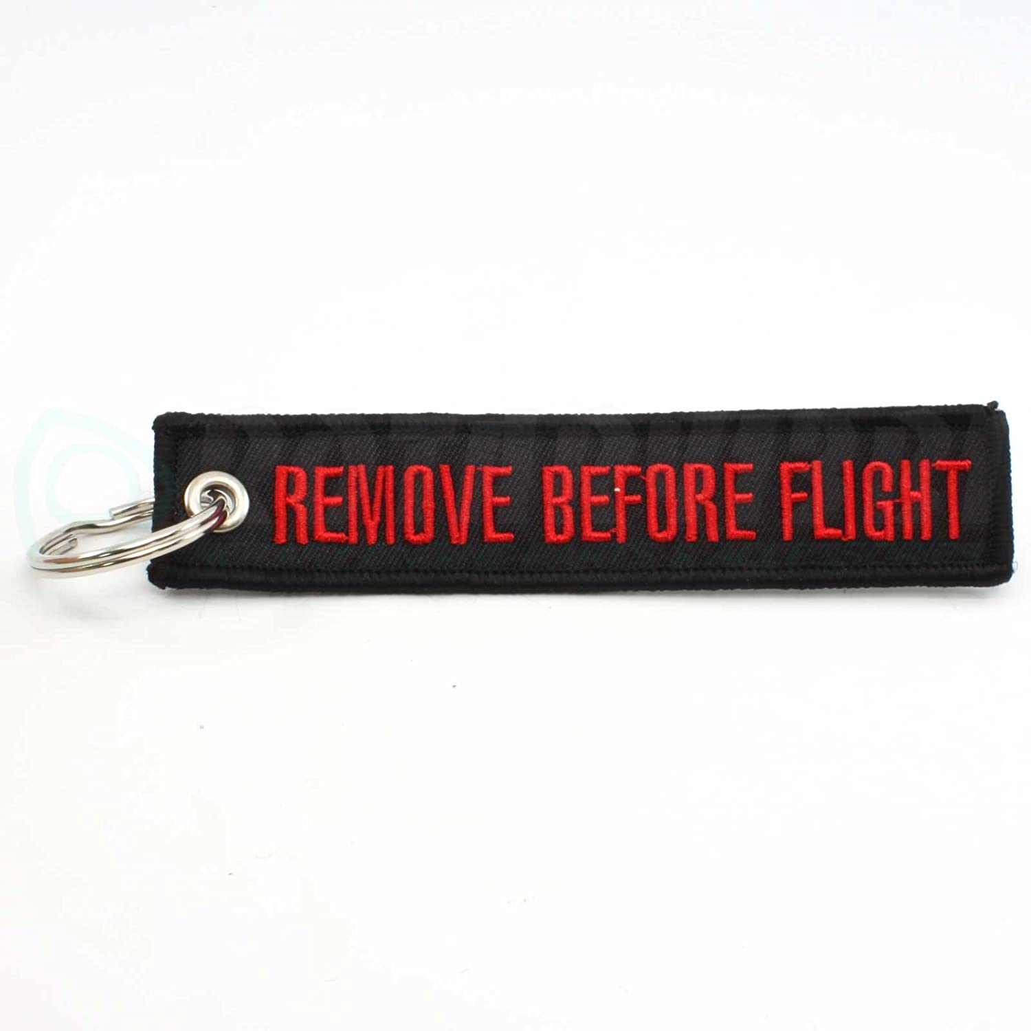 Rotary13B1 Remove Before Flight Keychain Black//Red RBF1213