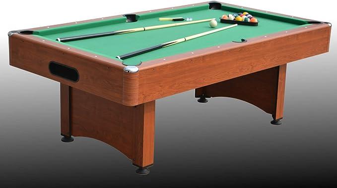 NG Biliardi Mesa de Billar Convertible en Mesa de Comedor y Ping Pong, Marte (con Superficie) – r5505 – (215 cm x 119 cm x 80 cm) – Papel Completo de Todos