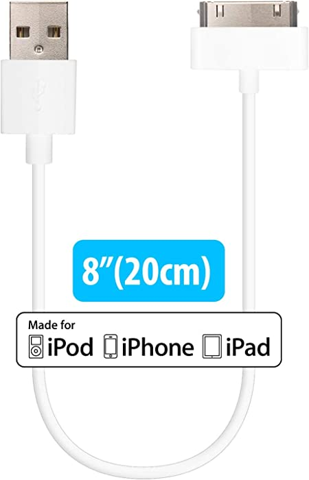 HomeSpot Short 30 pin iPhone 4 Cable MFi Cerified 8