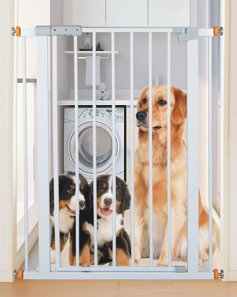 YHDD 赤ちゃんの安全ドアの遮断ドア子供のバルコニー保護犬のドア階段保護固定保護ドア (色 : 64-74cm YHDD 64-74cm) 64-74cm (色 B07LBH38V1, mu-ra online store:d8d597ce --- bennynews.com