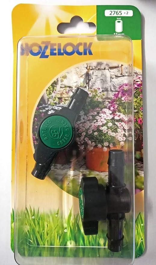 Válvula de control de flujo 13 mm Hozelock riego jardín jardín jardín exterior: Amazon.es: Jardín