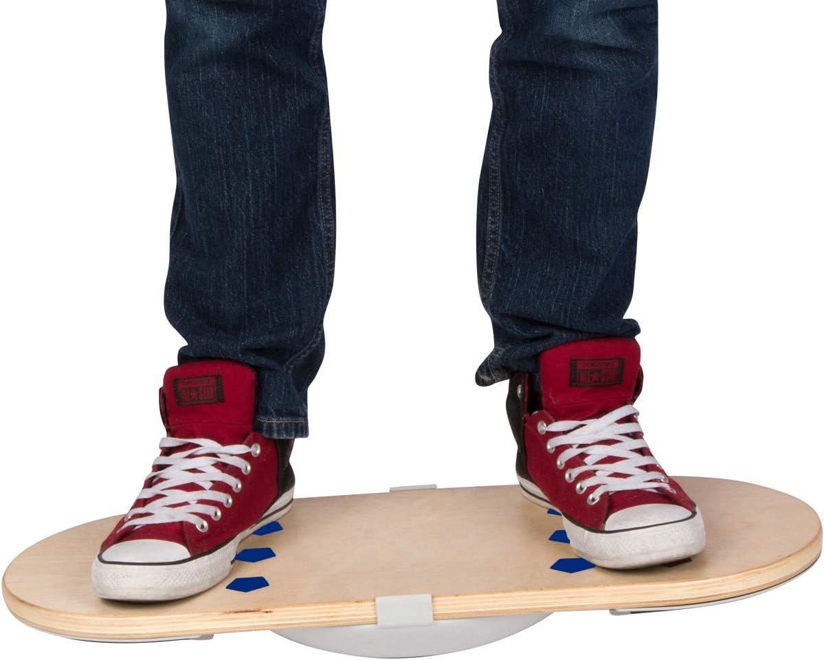 Casper Boards - Standing Desk Balance Board Under Desk Foot Rest, 2 Boards in 1, Ergonomic Design Anti Fatigue Grip Pads Helps You Stay Active, Burn More Calories, Improve Focus