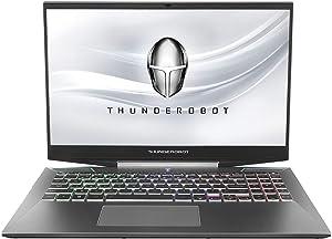"ThundeRobot Gaming Laptop - Intel Core i7-10750H 6 Core, GeForce RTX2060 Gaming Notebook, 32GB RAM,512GB SSD+1TB HDD, Chroma RGB Keyboard, Gamer Laptop 144Hz 15.6"" Full HD, Win10 Pro-Blue Grey"