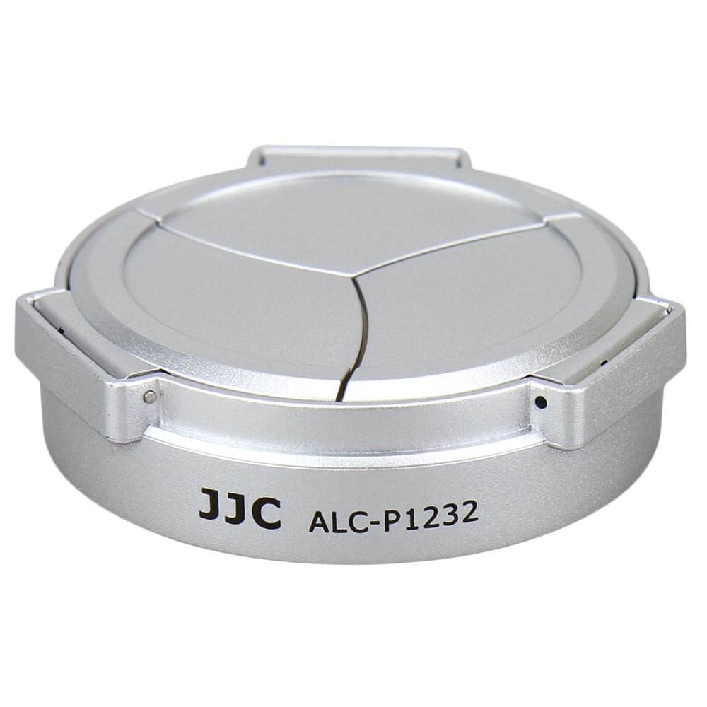 JJC ALC-P1232 Silver Auto Lens Cap for Panasonic Lumix G Vario HD 12-32 mm F3.5-5.6 Mega OIS Lens Jinjiacheng Photography Equipment Co. Ltd. ALC-P1232(S)