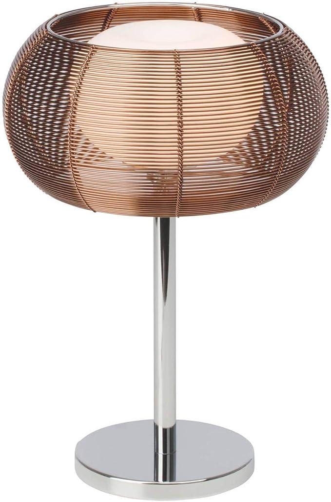 BRILLIANT lamp Lampe de table relax bronzechrome   1x QT14