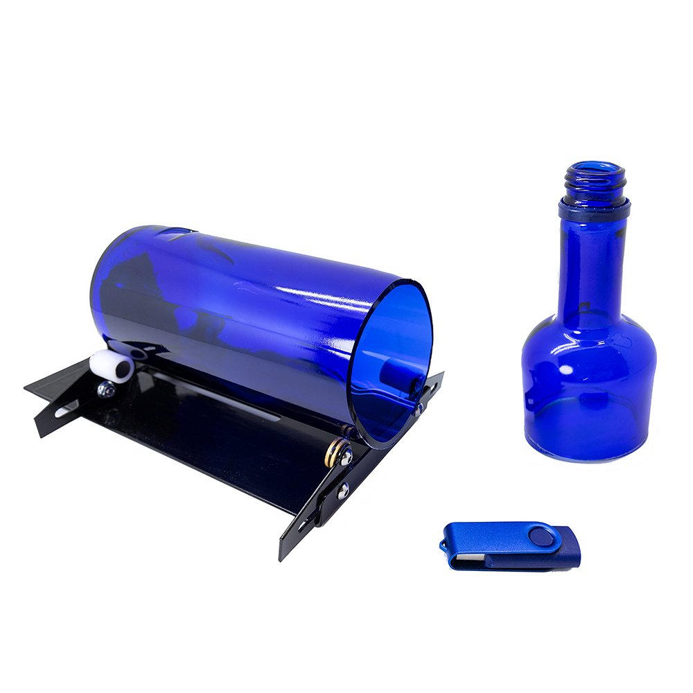 Glass Bottle Cutter Machine - Jaybva Glass Bottle Cutting Tool Kit Wine Bottle Cutting Tool DIY Tool Kit with Video Tutorial