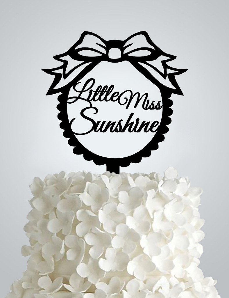 Little Miss Sunshine topper
