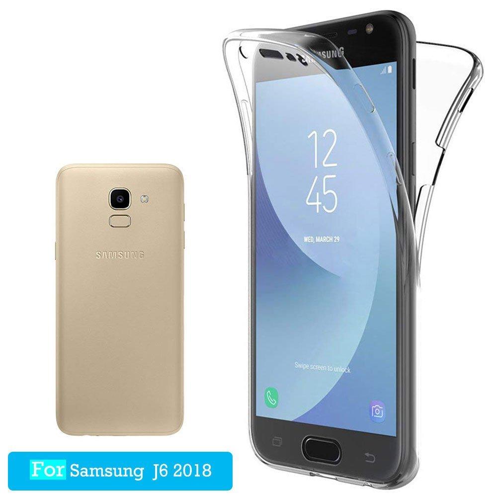 Funda Carcasas Samsung Galaxy J6 2018, JTMALL 360° Delantera ...