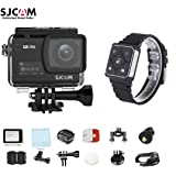 """SJCAM SJ8 PRO Kit{SJ8 PRO Camera with Accessories, SJCAM Remote Watch}4k/60fps Sports Cam with Ambarella H22 Sensor,EIS,170°Wide-angle 2.33"""" Touchscreen,1200mAH Battery for Underwater,Outdoor Activity"""