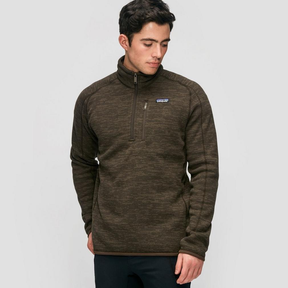 Patagonia Men's Better Sweater 1/4 Zip, Dark Walnut, MD by Patagonia