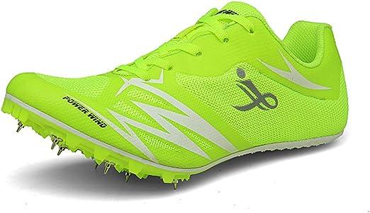 FJJLOVE Zapatillas de Atletismo Unisex Zapatillas de Cross ...