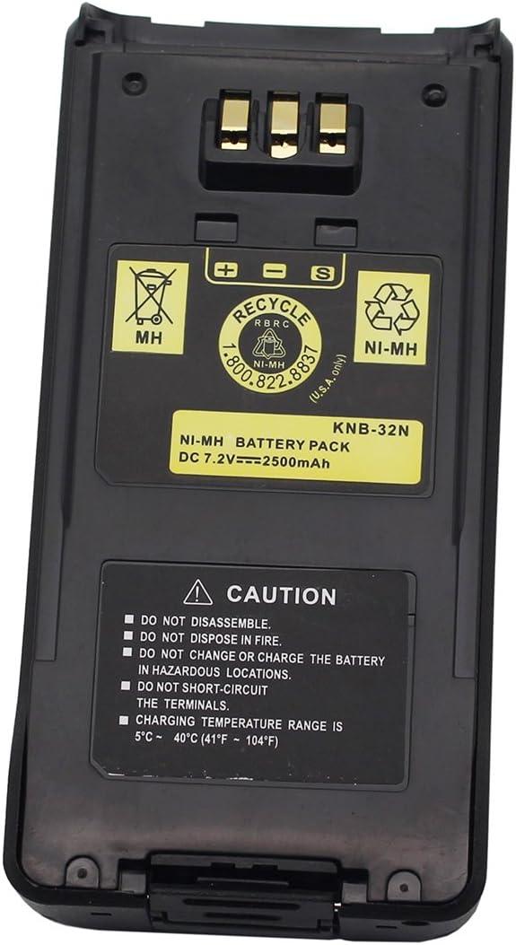 KNB-33L Battery For Kenwood TK2180 TK3180 TK5210 TK5310 TK5410 Portable