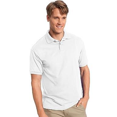 Hanes Mens ComfortBlend EcoSmart Jersey Polo, 3XL: Amazon.es ...