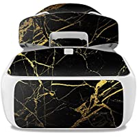 Skin For DJI Goggles – Black Gold Marble | MightySkins Protective, Durable, and Unique Vinyl Decal wrap cover | Easy To Apply, Remove, and Change Styles | Made in the USA