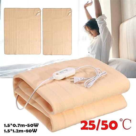 Impermeable Almohadilla De Calefacción Eléctrica - Color Sólido ...