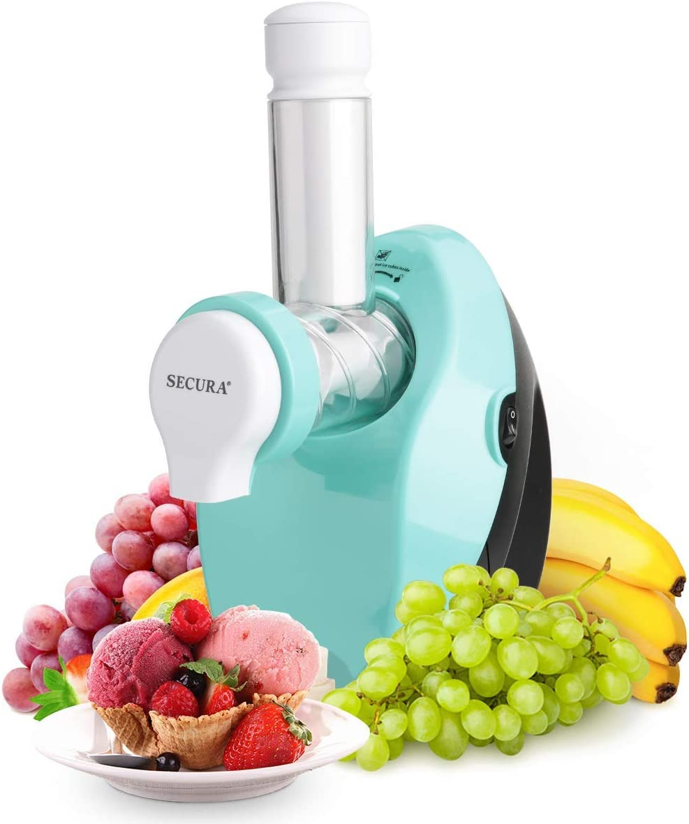 Secura Healthy Frozen Fruit Dessert Maker, Frozen Fruit Treats Machine