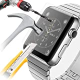 Adspec® 100% Genuine Premium Tempered Glass Screen Protector Cover Clear Film Phone (Apple Watch 42mm)