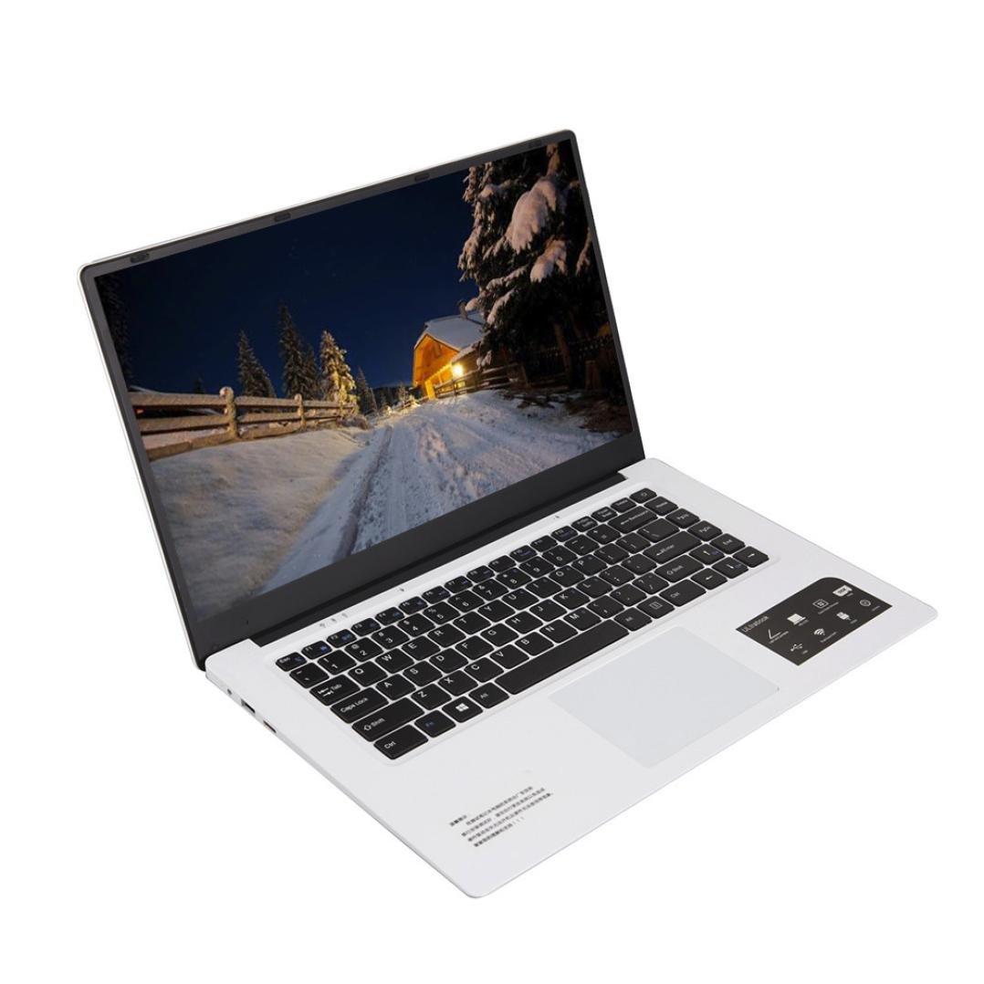 Lywey Ultra-thin Quad-Core Laptop 15.6 Inch HD Screen Display 1366*768pixel 4G+64G Windows10