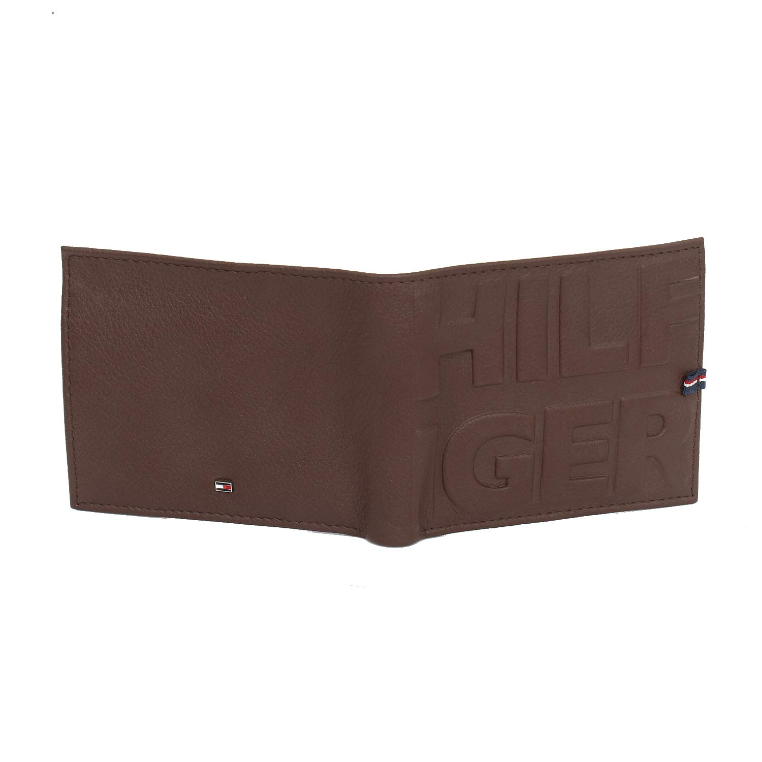 Tommy Hilfiger Mens Leather Trifold Wallet