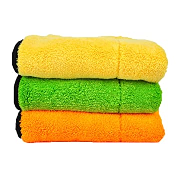 Car Detailing Toallas, ultra-thick pulido de microfibra gamuza de secado toalla de limpieza