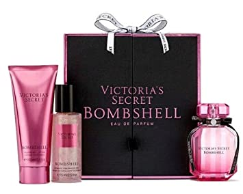 03169f6cf9 Image Unavailable. Image not available for. Color  Victoria s Secret  Bombshell 3-piece Deluxe Gift Set ...