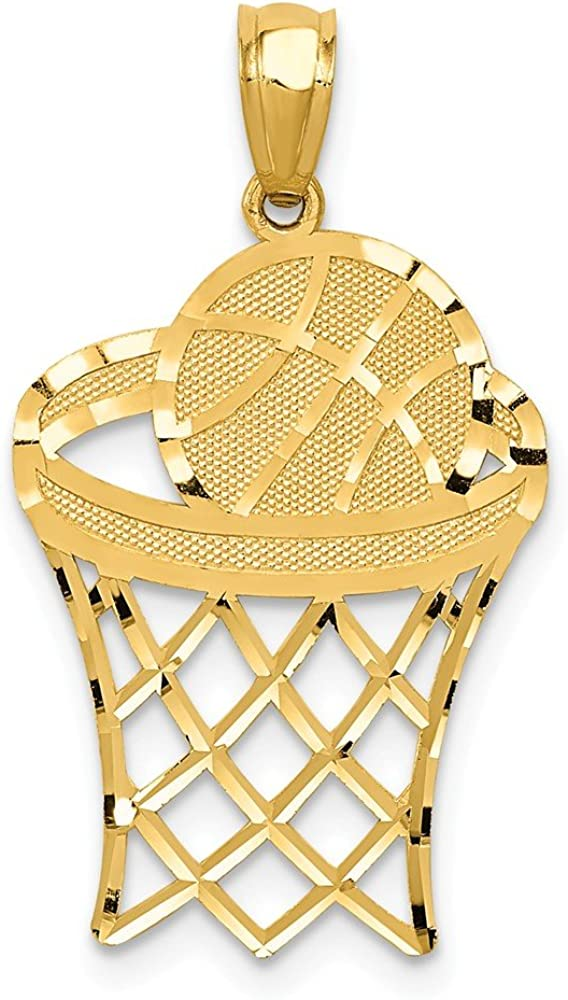 FB Jewels Solid 14K Rose Gold Celtic Cross Pendant