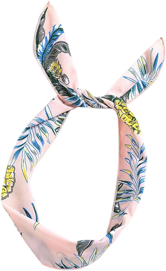 Oreilles Fille Cheveux Wrap Bandeau /Écharpe DIY Fil Bande Bow Mentin Femmes Mignon Lapin de Fer Fil Bandeau Cheveux accessoires Dames Serre-t/ête