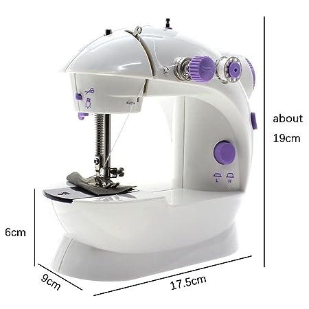 WEKA Alta calidad eléctrica de coser Mini 2 Velocidad de la ...