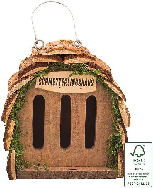 Gardigo Casa para Mariposas, Decoración de Jardín, 16 x 15, 5 x 10 cm: Amazon.es: Jardín