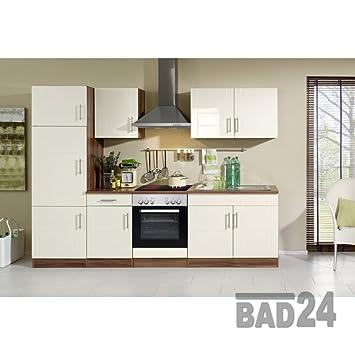 Küchenzeile mit elektrogeräten 270 Nevasto Komplett inkl. E ...