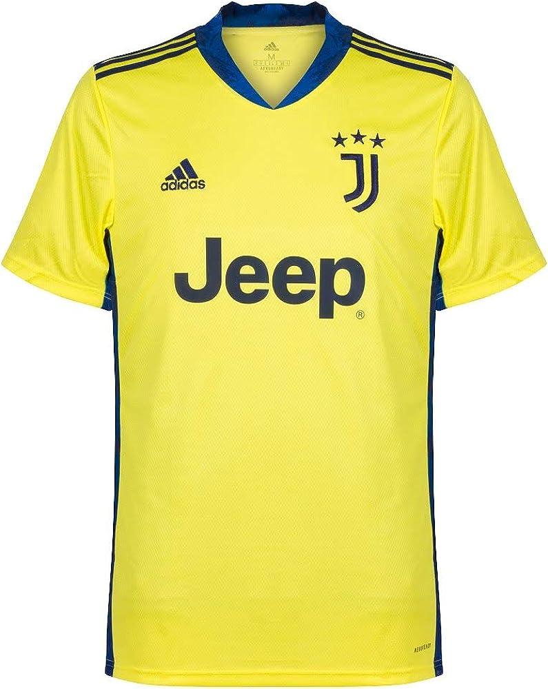 adidas 2020 2021 juventus home goalkeeper football soccer t shirt amazon co uk clothing amazon co uk