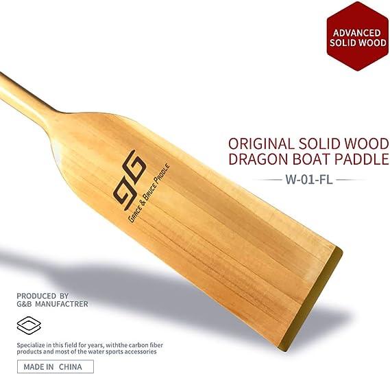 Made in EU Drachenbootpaddel Drache 1 St/ück H/öchste Qualit/ät aus Holz Dragon Boat Paddle 130cm