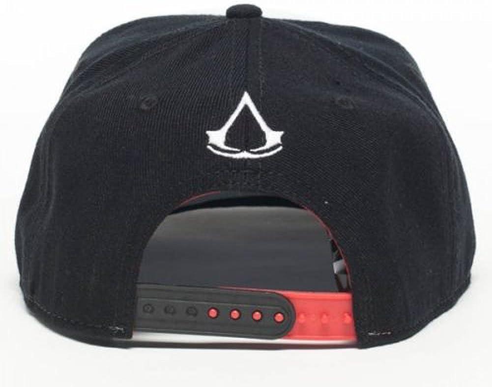 GAMER Cool Assassins Creed Logo Blanco y Negro Gorra: Amazon.es ...
