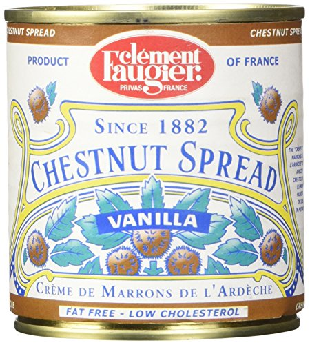 - Clement Faugier Gourmet Chestnut spread with vanilla from France 8.8oz
