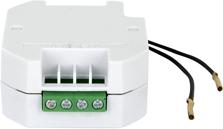 Syst/ème de contr/ôle radio 230 V pour appareils /électriques max 2000W lampes LED