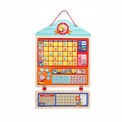Firiodr Behavior Reward Chore Magnetic Responsibility Chart Behavior Record Board Children Baby Educational Calendar Playboard: Computers & Accessories