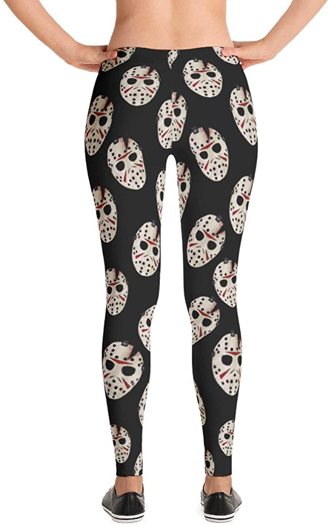 Friday the 13th Jason Voorhees work out pants sz S women