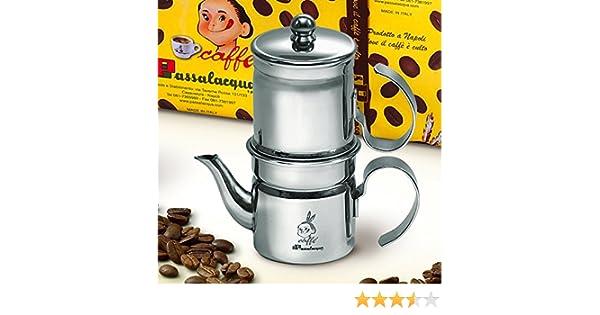 Cafetera napolitana 3-4 tazas de Passalacqua: Amazon.es ...