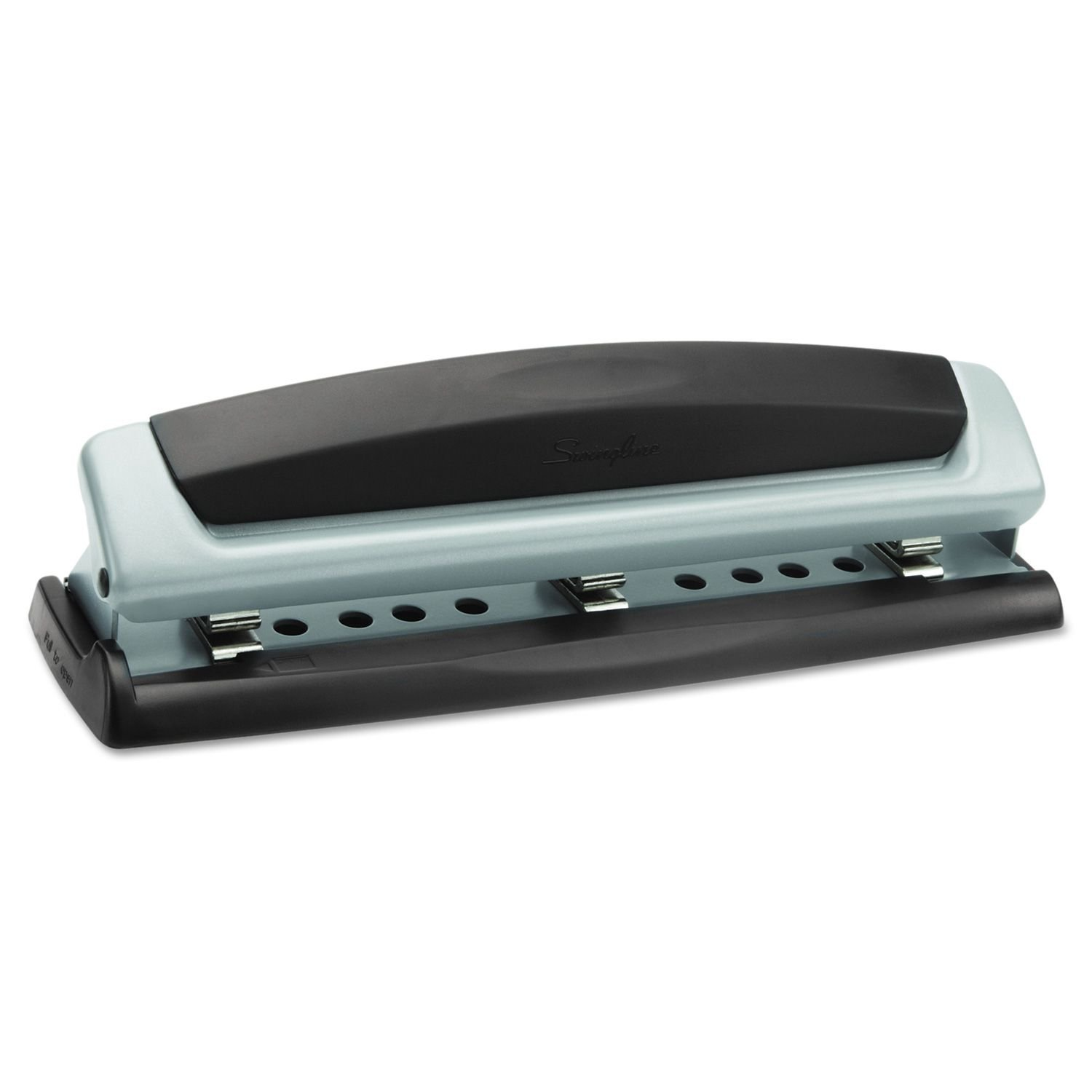 10-Sheet Precision Pro Desktop Twoand Three-Hole Punch 9/32'' Holes