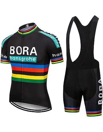 Catena Homme Cuissard /à Bretelles de Rembourr/é Cyclisme Collant Bib Shorts Pantalons pour V/élo Cycliste Respirant Pantalon
