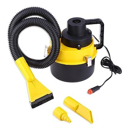 Taran Wet Dry Canister Outdoor Carpet Car Boat Mini Vacuum Cleaner Air Inflating Pump