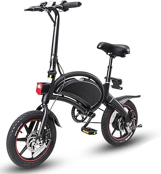 Dpliu-HW Bicicleta Eléctrica Plegable Coche eléctrico Viaje ...