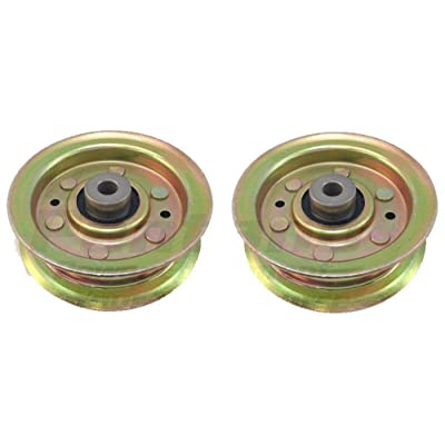 2 Pack AYP Sears Poulan Flat Idler Pulley 173438 131494 Husqvarna 532173438 ;#by:lees24 : Garden & Outdoor