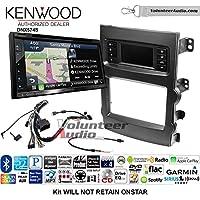 Volunteer Audio Kenwood DNX574S Double Din Radio Install Kit with GPS Navigation Apple CarPlay Android Auto Fits 2013-2017 Chevrolet Malibu