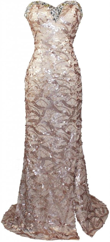 Lace Strapless Dress